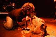 "Manu ""Gallego"", cantante de Porco Bravo, Kafe Antzokia, 2008"