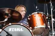 Troy Luccketta, baterista de Tesla (Kobetasonk, Bilbao, 2008)