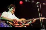 Deu Txakartegi, cantante y bajista de We are standard, Bilbao BBK Live, Bilbao. 2008