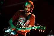 Juan Escribano, guitarrista de We are standard, Bilbao BBK Live, Bilbao. 2008
