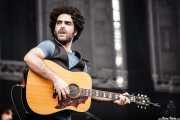 Jero Romero, cantante y guitarrista de The Sunday Drivers (Bilbao BBK Live, Bilbao, 2008)
