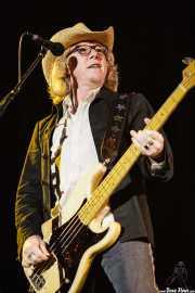 Mike Mills, bajista de R.E.M. (Bilbao BBK Live, Bilbao, 2008)