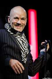Michael Stipe, cantante de R.E.M. (Bilbao BBK Live, Bilbao, 2008)