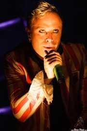 Keith Flint, cantante de The Prodigy, Bilbao BBK Live, 2008