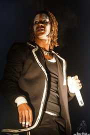Maxim Reality, cantante de The Prodigy, Bilbao BBK Live, 2008