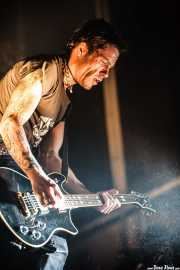 Rob Holliday, guitarrista y bajista de The Prodigy, Bilbao BBK Live, 2008