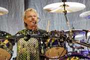 Frank Beard, baterista de ZZ Top, Bilbao BBK Live, Bilbao. 2008