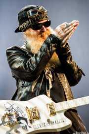 Billy Gibbons, cantante y guitarrista de ZZ Top, Bilbao BBK Live, Bilbao. 2008