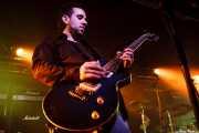 Julio Ruiz, guitarrista y cantante de Positiva, Barakaldo. 2008