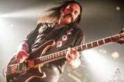 Lemmy Kilmister, cantante y bajista de Motörhead (Sala Rockstar, Barakaldo, 2008)