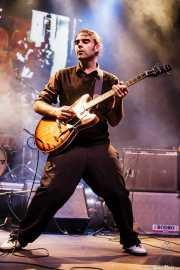 Xixo Yantani, guitarrista de The Cherry Boppers (Kafe Antzokia, Bilbao, 2008)