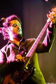 Lander Macho, bajista de The Cherry Boppers (Kafe Antzokia, Bilbao, 2008)
