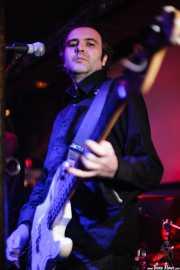 Jaime Ros, bajista de The Meows, El Balcón de la Lola, Bilbao. 2008