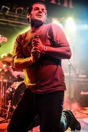 Iñigo Goikoetxea, cantante de Aterkings, Sala Rockstar. 2008