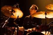 Ordy Garrison, baterista de Wovenhand, Kafe Antzokia, Bilbao. 2008