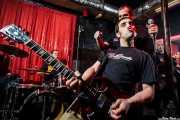 Mikel Txurruka -guitarrista-, Iñigo Goikoetxea -cantante-, Martxelo Mendizabal -baterista- y Alberto González -guitarrista- de Aterkings, El Balcón de la Lola. 2009