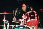 Mike Zanghi, baterista de The War on Drugs, Sala Rockstar. 2009