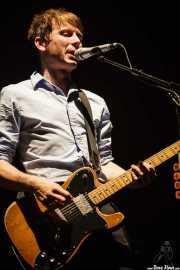 Alex Kapranos, cantante y guitarrista de Franz Ferdinand, Pabellón de La Casilla, 2009