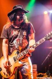 Blaine Cartwright, cantante y guitarrista de Nashville Pussy (Kafe Antzokia, Bilbao, 2009)
