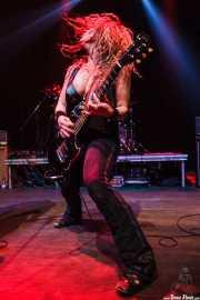 Ruyter Suys, guitarrista de Nashville Pussy (Kafe Antzokia, Bilbao, 2009)