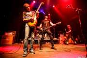 "Ron ""Rontrose"" Heathman -guitarra-, Eddie Spaghetti -voz, bajo y guitarra- y Dan ""Thunder"" Bolton -guitarra- de Supersuckers- de Supersuckers (Kafe Antzokia, Bilbao, 2009)"