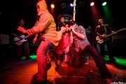 Los Chicos y Robertez (armonicista invitado) y gusiluz (Freakland Festival, Ponferrada, 2009)
