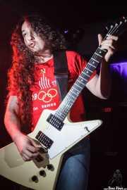 """Óscar Hernández """"Trash"""", guitarrista de Motociclón (Sala Edaska, Barakaldo, 2009)"""