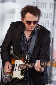Guitarrista de Mike Farris & the Roseland Rhythm Revue, Azkena Rock Festival, Vitoria-Gasteiz. 2009
