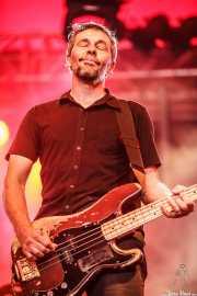 Pascal Humbert, bajista de Wovenhand, Azkena Rock Festival, Vitoria-Gasteiz. 2009