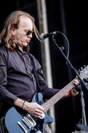 Brent Williams, guitarrista y teclista de The New Christs, Azkena Rock Festival, 2009