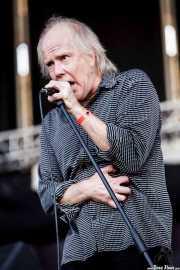 Rob Younger, cantante de The New Christs, Azkena Rock Festival, 2009