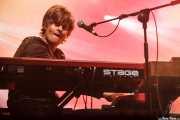 Martin Hederos, teclista de The Soundtrack of Our Lives (Azkena Rock Festival, Vitoria-Gasteiz, 2009)