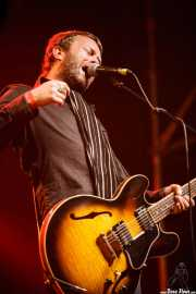 Ian Person, guitarrista de The Soundtrack of Our Lives (Azkena Rock Festival, Vitoria-Gasteiz, 2009)