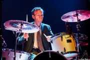 Lance Wille, baterista de Reigning Sound, Kafe Antzokia, Bilbao. 2009