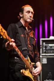 David Wayne Gay, bajista de Reigning Sound, Kafe Antzokia, Bilbao. 2009