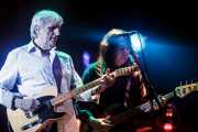 Ben Keith -guitarrista- y Rick Rosas -bajista- de Neil Young, Velódromo de Anoeta. 2009