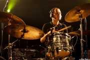 Loza, baterista de Sex Museum, Sala Rockstar, 2009