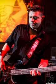 Patxi González, bajista de Ya te digo, El Balcón de la Lola, Bilbao. 2009