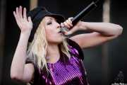 Katie White, cantante y guitarrista de The Ting Tings, Bilbao BBK Live, Bilbao. 2009