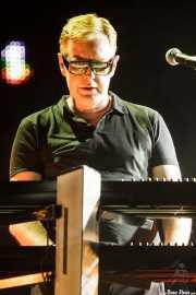 Andy Fletcher, teclista de Depeche Mode (Bilbao BBK Live, Bilbao, 2009)