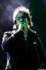 Ian McCulloch, cantante de Echo & The Bunnymen, Bilbao BBK Live, Bilbao. 2009
