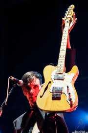 Stefan Olsdal, bajista y guitarrista de Placebo, Bilbao BBK Live. 2009
