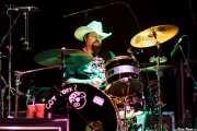 "Jonathan ""Butch"" Norton, baterista de Lucinda Williams (Kafe Antzokia, Bilbao, 2009)"