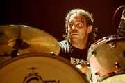 Dani García, baterista de Radiactivos, Aste Nagusia 2009, Bilbao. 2009