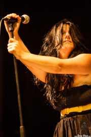 Maite Santamaría, cantante de Radiactivos, Aste Nagusia 2009, Bilbao. 2009