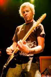 Kepa Arakistain, guitarrista de Norman (Bilborock, Bilbao, 2009)