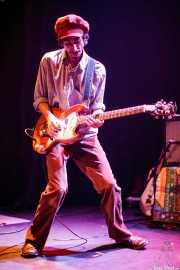 "Oskar Benas ""Benitt Ash"", cantante y guitarrista de Transalpine Boys (Bilborock, Bilbao, 2009)"