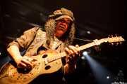Eric Sardinas, cantante y guitarrista de Eric Sardinas & Big Motor, Jimmy Jazz Gasteiz, Vitoria-Gasteiz. 2009