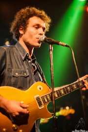 Adrián Costa, guitarrista y cantante de Los Reyes del KO, Hell Dorado, Vitoria-Gasteiz. 2009
