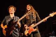 Adrián Costa -guitarra y voz- y Javi Vacas -bajo- de Los Reyes del KO, Hell Dorado, Vitoria-Gasteiz. 2009